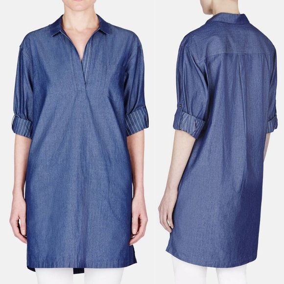 ATM Anthony Thomas Melillo Dresses & Skirts - ATM Anthony Thomas Melillo Chambray Shirt Dress